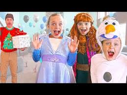 <b>Frozen 2</b> - Elsa and Anna Give Olaf a <b>Birthday</b> Surprise! - YouTube
