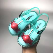 Girls Jelly Sandals <b>2019 New Mini Sed</b> Girls Soft Breathable Casual ...