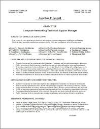 free job resume template   template sample    computer networking and technical support manager resume template example  free job resume template