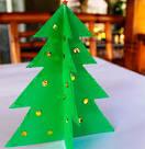 Новогодние гирлянды елочка своими руками из бумаги