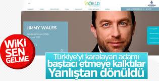 Wikipedia'nın kurucusu Türkiye'ye gelmiyor