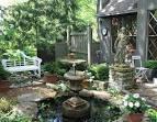 Зоны отдыха в саду фото