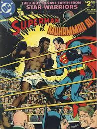 Superman VS <b>Muhammad Ali</b> - Original <b>printing</b> - Signed