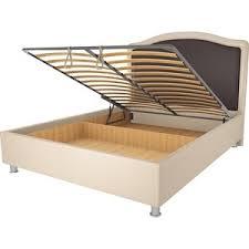 Купить <b>кровать OrthoSleep калифорния</b> бисквит-<b>шоколад</b> ...