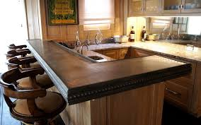 bar countertop ideas design kitchen top creating a kitchen breakfast bar using solid wood countertops your thi