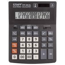Купить <b>Калькулятор настольный STAFF</b> PLUS STF-333 (200x154 ...