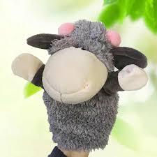 <b>Fashion Cute Cartoon</b> Animal <b>Doll</b> Kids Glove Hand Puppet Soft ...
