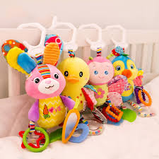 <b>Cute Baby Newborns Bed</b> Stroller Hanging Toys Teether Baby ...