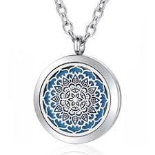 Hot Sale <b>Lotus Magnetic</b> Diffuser Necklace…