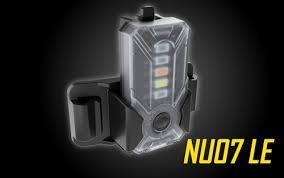 <b>Nitecore NU07 LE</b> 5-Color Rechargeable Signal Light