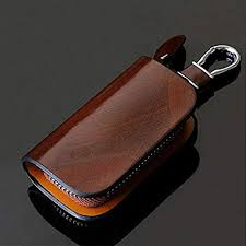 SNCN Genuine Leather Car Key Chain Wallets Cover ... - Amazon.com