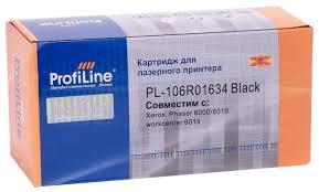 <b>Картридж ProfiLine PL</b>-106R01634-Bk, совместимый — купить по ...