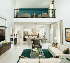 barano model home interior design example of a trendy open concept living room design in tampa brilliant home interior design