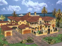 Cedar Palm Luxury Florida Home Plan S    House Plans and More