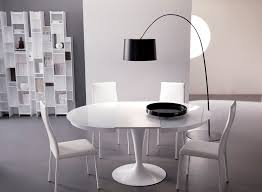 round glass extendable dining table: round white dining table with round base added four white inside white round extendable dining table