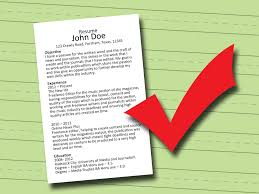 how to write a lance editor resume steps pictures