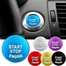 Car START Engine Button STOP Key <b>Accessories</b> Replace Cover ...