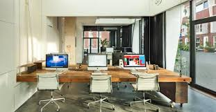 this agencys office literally disappears after hours so you cant work late forcing you to find a balance by david gianatasio advertising agency office