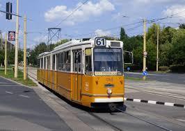 Ligne 61 du tramway de Budapest