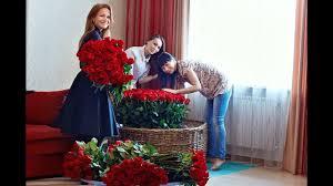 Подарок маме) Букет-<b>композиция из 501</b> розы, длинной 80 см ...