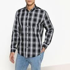 Купить женские рубашки в <b>клетку</b> черные
