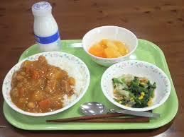 「カレー給食」の画像検索結果