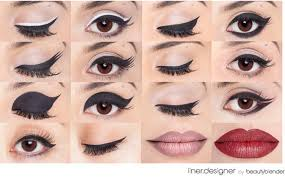 how you can apply cat eyes eyeliner it is beautyblender