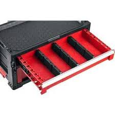 <b>Тележка инструментальная Keter с</b> 5 ящиками Drawer 2+3, 22 ...
