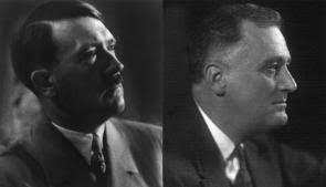fdr and hitler  a study in contrasts   the gilder lehrman    adolf hitler  n d   loc  and franklin delano roosevelt  glc