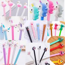 <b>15pcs</b>/ <b>lot</b> Flamingo unicorn gel pen 0.5mm kawaii <b>cute Animals</b> ...