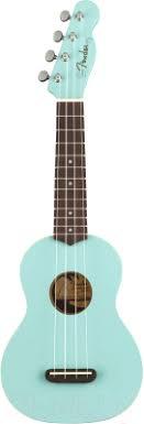 <b>Fender Venice</b> Soprano Ukulele Daphne Blue NRW <b>Укулеле</b> купить ...