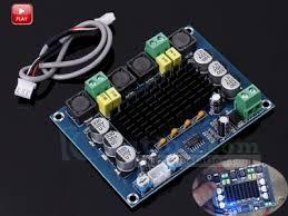 new xh m543 high power digital amplifier board tpa3116d2 dual channel 2 120w