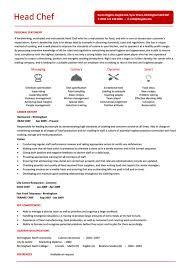 chef resume templates   free psd  pdf  sampleshead chef resume template