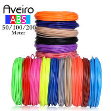 2019 <b>Aveiro 3D Pen</b> With 50/100/200 Meters 1.75MM ABS Filament ...
