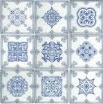 <b>Керамическая</b> плитка <b>Absolut</b> Keramika <b>Decor</b> Fulham <b>декор</b> 20х20