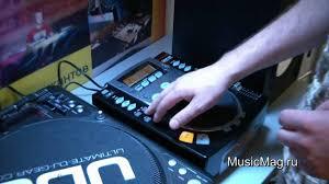 MusicMag.ru: Vestax CDX-05 <b>DJ CD player</b> video review - YouTube
