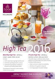 High Tea Kitchen Tea Grand High Tea At The Sage Hotel Wollongong Whats On In Wollongong