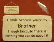 Little Brother Quotes on Pinterest   Big Sister Quotes, Brother ... via Relatably.com