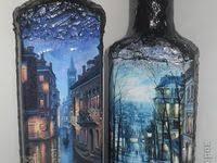 583 лучших изображений доски «Bottle Art» в 2020 г   Краска по ...