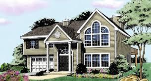 Split Level House Plans  amp  Home Designs   The House DesignersHouse Plan