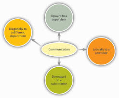 principles of management flatworld direction of communication in organizations