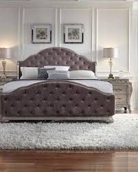 bella terra tufted king bed bed furniture image