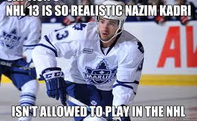 NHL 13 Realism memes | quickmeme via Relatably.com