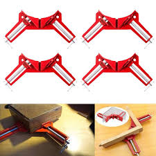 <b>4PCs 90 Degree Right</b> Angle Corner Clamps Miter Picture Frame ...