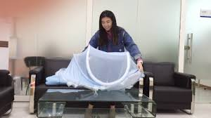 <b>portable foldable crib</b> with mosquito net - YouTube