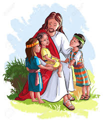 Image result for jesus loves the little children of the world free clipart