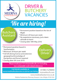 we are hiring medina foodservice we are hiring