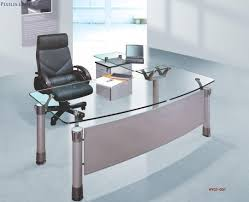 remarkable glass home office desk marvelous home decorating ideas adorable glass top office
