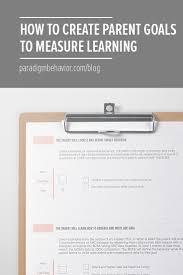 how to create parent training goals to measure learning paradigm aba parent training smart goals