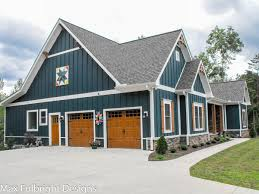 One or Two Story Craftsman House Plan   Country Craftsman House Plancraftsman country farmhouse plans   car garage